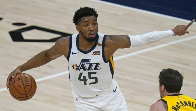 Mitchell abandonó el partido entre el Jazz y los Pacers cuando se disputaba el tercer cuarto.