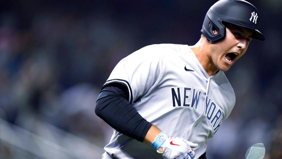 Anthony Rizzo se estrena con Jonrón y los Yankees ganan